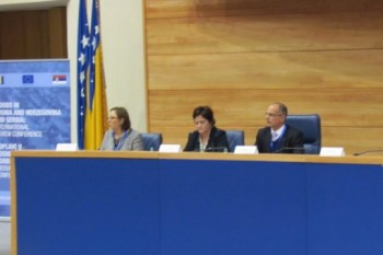 International Conference on Post-Flood Recovery Results in Serbia and Bosnia and Herzegovina Held in Sarajevo